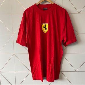 Official Ferrari Merchandise Short Sleeve Shirt